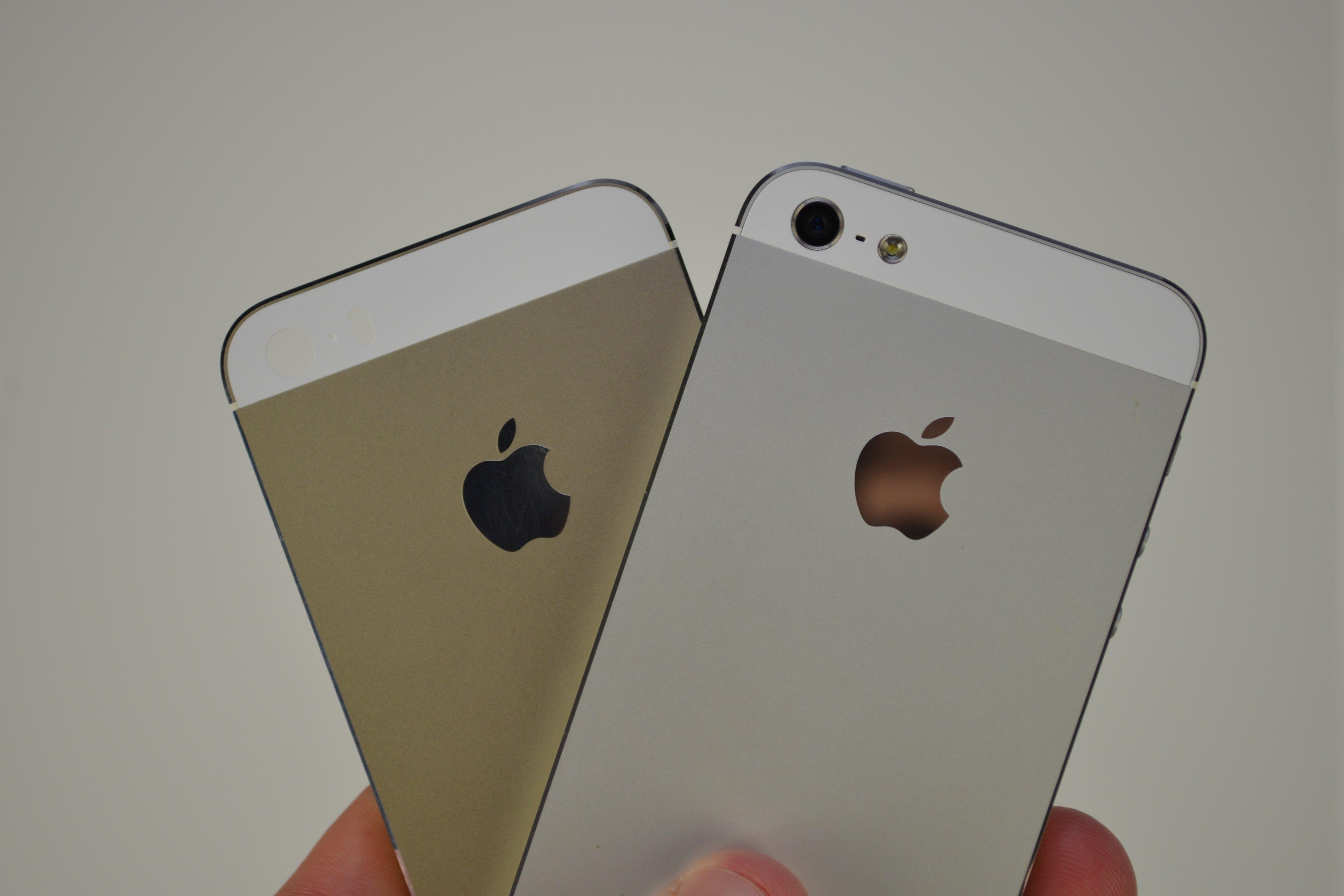 apple iphone 5s цвета