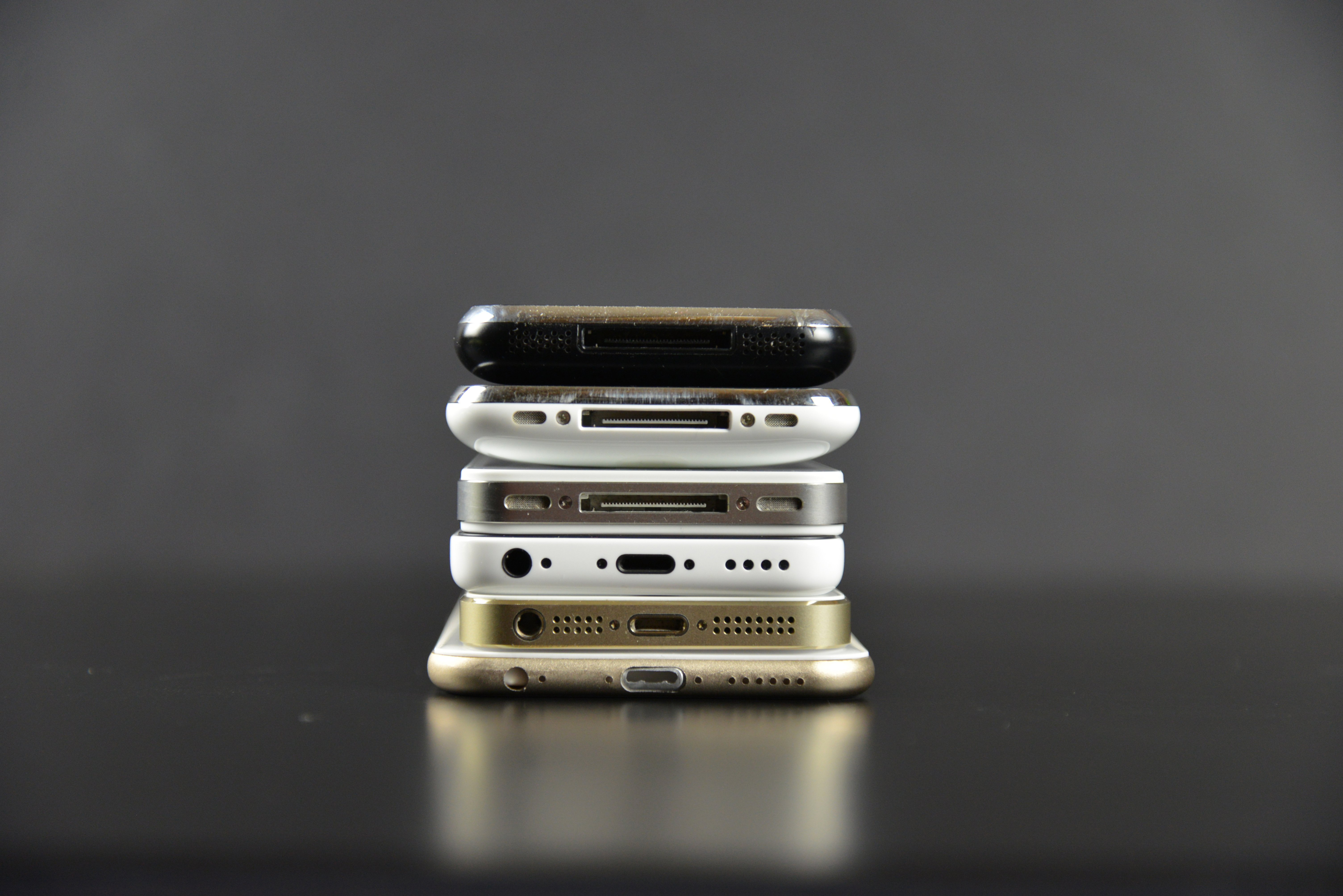 A Visual Look at Apple's iPhone 6 vs Previous iPhones